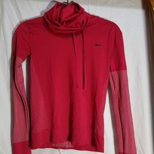 Nike dri fit running shirt. Pink size small